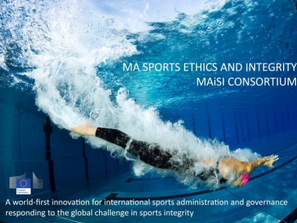 Master of Art in Sports Ethics and Integrity (MAiSI) sponsored by Olympic Solidarity